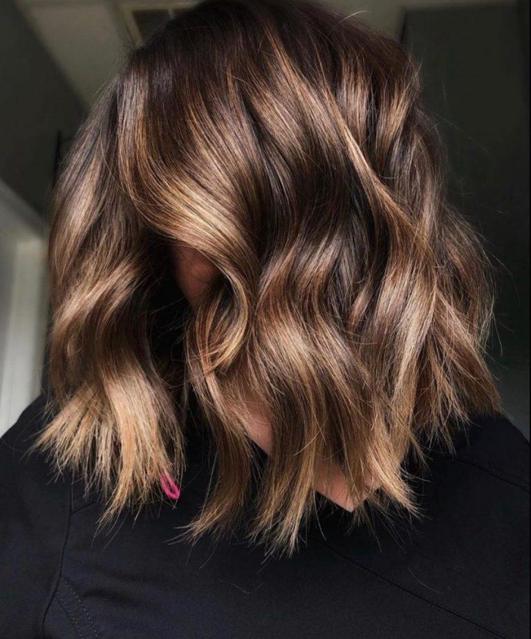 capelli castani dorati