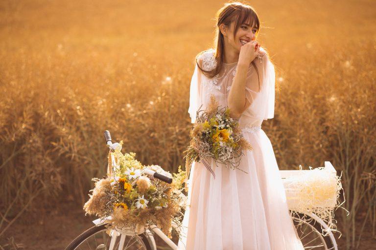 acconciatura naturale sposa